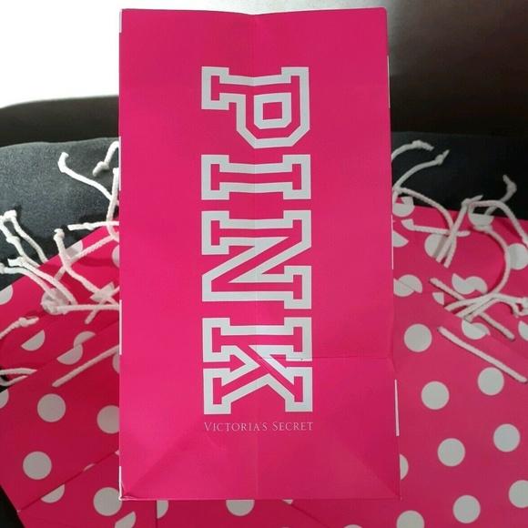 New Victoria's Secret Shopping Bag Gift Lot x 10